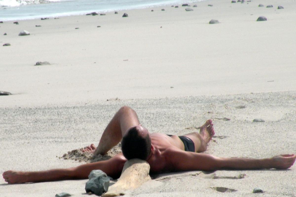 Entspannung am Strand Costa Rica