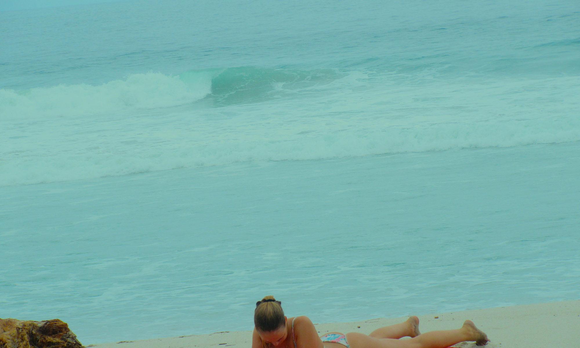 relaxen am Strand Costa Rica